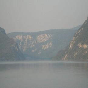 ущелье горы на реке Дунай
