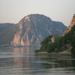 горы на реке Дунай