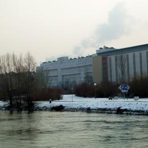 Вена Австрия р. Дунай