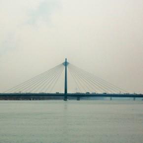 мост вена Австрия р. Дунай