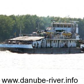 Борис Макаров, Флот Удп, Порт Приписки Измаил, Река Дунай