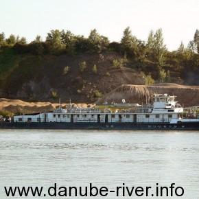 Капитан Глушко,Владелец УДП, Украина, порт приписки  Измаил, Река Дунай