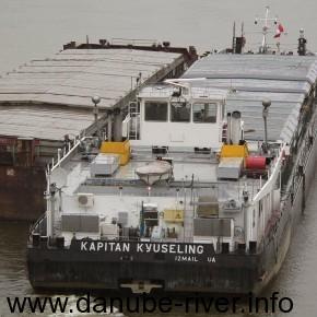 Капитан Кюселинг, УДП, Рекада Дунай, порт приписки Измаил