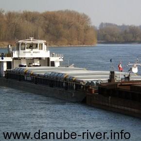 Капитан Жидков, УДП, на реке Дунай