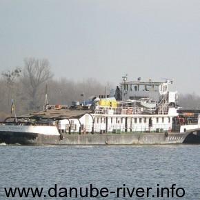 Константин Борисов, Флот УДП, Река Дунай