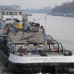 Константин Борис, Флот УДП, Река Дунай