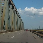 Второй новый мост через Дунай.