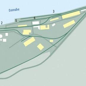 Порт Деггендорф план порта