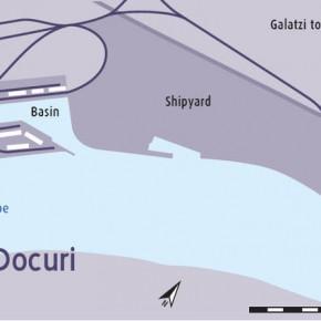 план Порт Галац