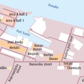 план Порта Белград