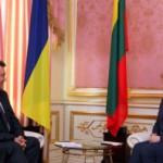 Украина – Литовский протокол о развития железнодорожных грузоперевозок.