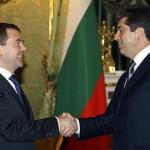 Медведев и Плевнелиев говорили о проблеме АЭС «Белене»