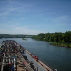 Перевозка на реке Дунай
