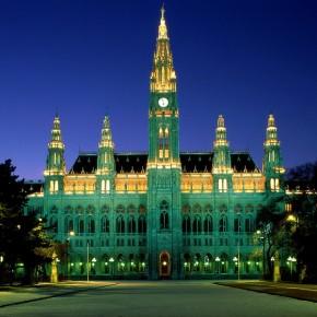Город Вена Австрия