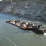 Последствие увеличение транспортировок по Дунаю