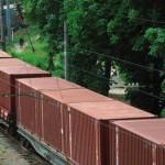 Контейнерный поток по железной дороге Китай — Чехия