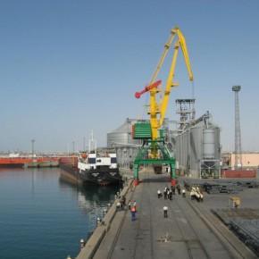 морской румынский порт Джурджулешты
