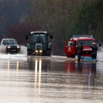 В Хорватии из-за наводнения эвакуированы  люди