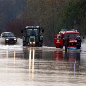 наводнение на реке Дунай