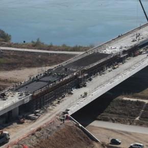 новый мост через дунай