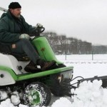В Европе снегопады и сильные  морозы. Циклон с Востока.