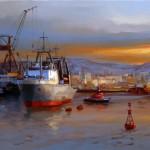 В Поморье будет построен причал для лодок и рыбацкий порт