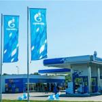 """Первая АЗС под брендом """"Газпром"""" в Румынии."""