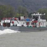 На реке Дунай, в Австрии,около города Schönbühel,  затонула баржа Mahart – 1801 B