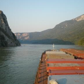 Река Дунай канал Румыния