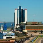 Порт Одессы в прошедшем 2012 году получил  0,4 миллиарда чистой прибыли.