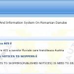 """У Румынии появиться собственная """"РИС""""  на Дунае в январе 2013"""