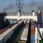 За прошедший 2012 год через паромные линии Варны прошло 164 526 тонн грузов