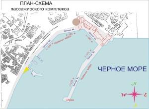 план порта Ялта