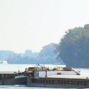 Венгерский флот, ALTMC39CHL, SCHONDRA, самоходная баржа, толкач
