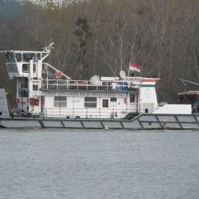 Венгерский флот, Махарт, MAHART, CSONGRAD, буксир, толкач, самоходная баржа