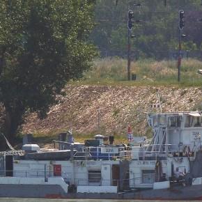 Венгерский флот, Махарт, MAHART, DUNA, буксир, толкач, самоходная баржа