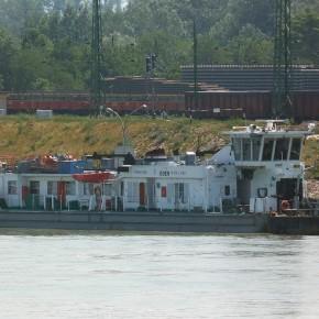 Венгерский флот, Махарт, MAHART, EGER, буксир, толкач, самоходная баржа