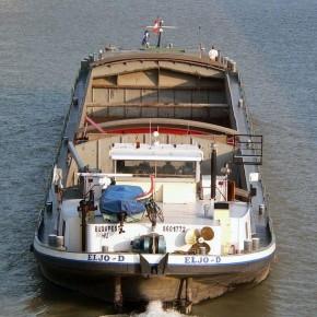 Венгерский флот, ELJO-D, самоходная баржа, толкач