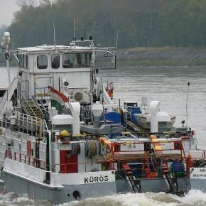 Венгерский флот, Махарт, MAHART, буксир, толкач, самоходная баржа