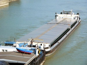 Венгерский флот, буксир, NELSON,  толкач, самоходная баржа
