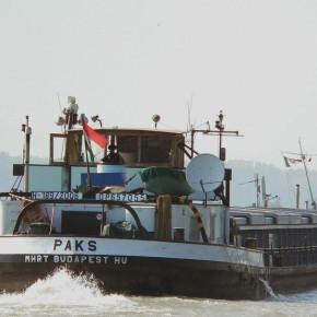 Венгерский флот, Махарт, MAHART, буксир, толкач, самоходная баржа, PAKS