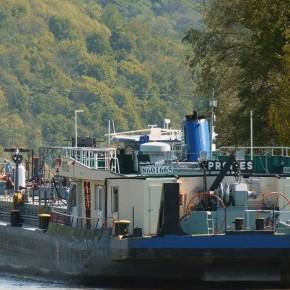 Венгерский флот, буксир, PROTTES, толкач, самоходная баржа