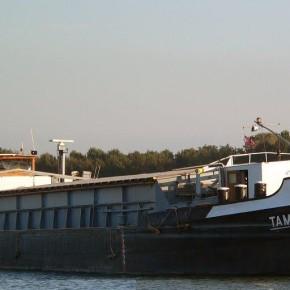 Венгерский флот, буксир, TAMINA, толкач, самоходная баржа