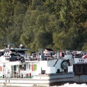 Венгерский флот, Махарт, MAHART, VAC, буксир, толкач, самоходная баржа