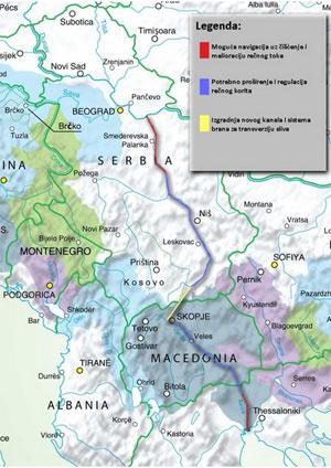 Дунай - Морава - Вардар - Салоники