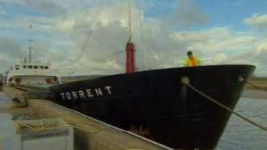 Арест судна у берегов Британии