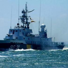 Боевые корабли Украины
