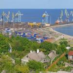 Мариупольский порт приобрел портальные  краны.