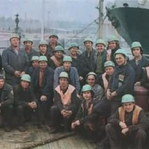 Работники порт Ильичевск