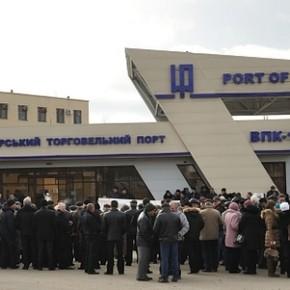 митинг в порту Измаил